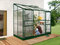 Lean to Greenhouse IDA 3300 (sticlă + verde)