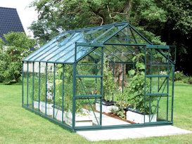 Stil clasic Greenhouse Jupiter 11500 (sticlă + verde)